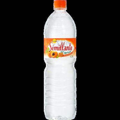 Eau de source à l'abricot SEMILLANTE, bouteille 1.50l