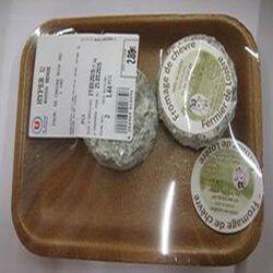 Fromage de chèvre noir sec au LAIT cru de chèvre 2 pièces