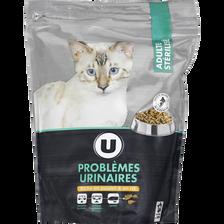 Croquettes premium pour chat problèmes urinaires poulet U 1,5kg