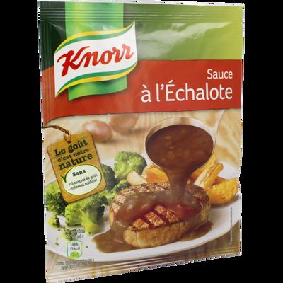 Sauce déshydratée aux échalote KNORR, 32g, 20cl
