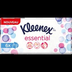 Mouchoirs essential KLEENEX, mini étuis x6
