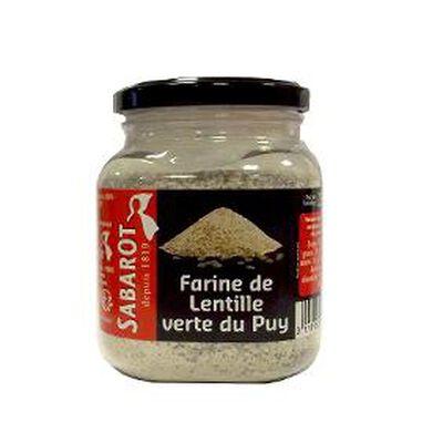 farine de lentille verte du Puy 750g SABAROT