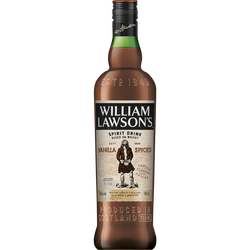 Whisky WILLIAM LAWSON'S vanilla spiced 35° 70cl