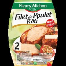Filet de poulet rôti FLEURY MICHON, 200g