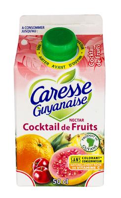 Nectar Cocktail, CARESSE GUYANAISE, 1/2L