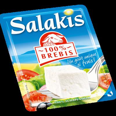 Fromage au lait pasteurisé brebis, 22,8% de MG, SALAKIS barquette de200g