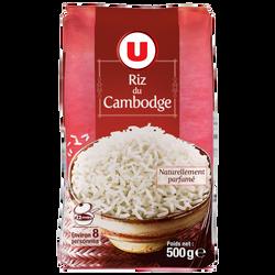 Riz du Cambodge U, sachet en aluminium de 500g