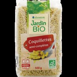 Coquillettes cuisson 3 minutes JARDIN BIO,  500g