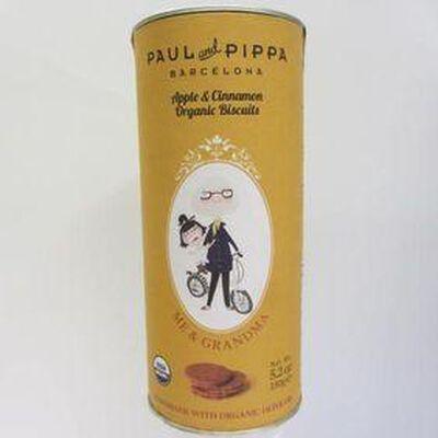 Biscuits à la pomme et à la cannelle PAUL AND PIPPA,150g
