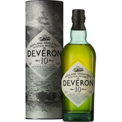 Scotch whisky GLEN DEVERON, 40°, 10 ans d'âge, 70cl sous coffret