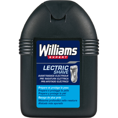 Lotion avant-rasage électrique Lectric Shave, WILLIAMS, 100ml