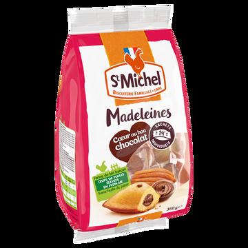 St Michel Madeleines Fourrées Au Chocolat St Michel, X14 Soit 350g