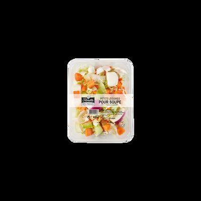 Petits légumes pour soupe, FLORETTE, barquette 450g