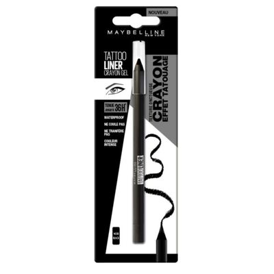 Tattoo liner gel pencil 900 deep on blister MAYBELLINE