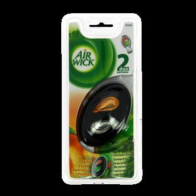 Diffuseur Air Wick clipsable sur aérateur,diffusion régulée