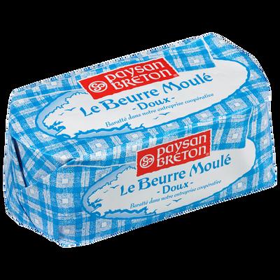 Beurre moulé doux PAYSAN BRETON, 82% de MG, 500g