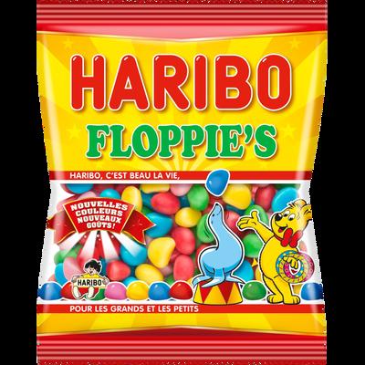 Bonbons dragéifiés goût fraise Floppy HARIBO, 250g