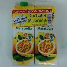 CARESSE GUYANAISE NECTAR MARACUDJA 2X1L