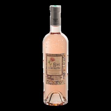 Rosé à la Rose Vin Rosé Aop Côtes De Provence A La Rose, 75cl