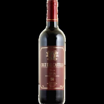Vin rouge d'Espagne do tinto rioja Cruz del Castillo, 75 cl