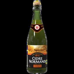 Cidre bouché doux de Normandie IGP U , 2°, bouteille 75cl