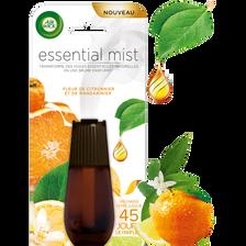 Recharge essential mist fleur de citronnier&mandarinier AIR WICK, 20ml