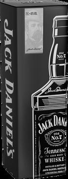 Jack Daniel's Whiskey N°7 Old Jack Daniel's ,40°, Bouteille De 70cl + Coffret Fêtedes Pères