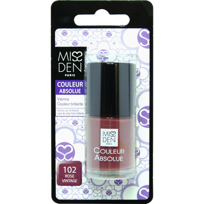 Vernis couleur rose vintage, MISS DEN