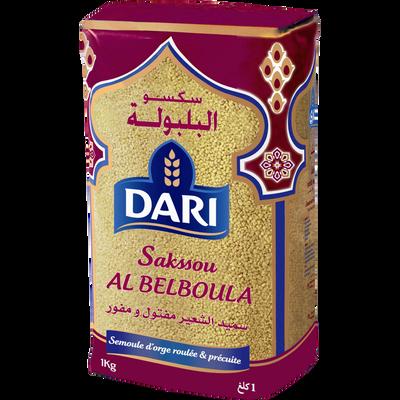 Semoule d'orge précuite Al Belboula DARI, 1kg