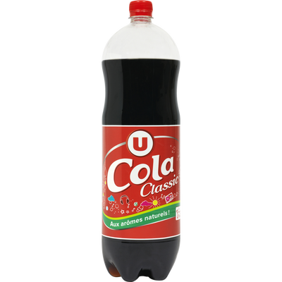 Cola standard classic U, bouteille de 2l