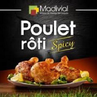 Poulet rôti spicy, MADIVIAL, la barquette de 700g
