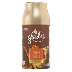 Recharge automatic spray amber & oud GLADE BY BRISE, 250ml