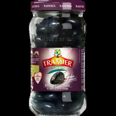 Olives noires à la grecque TRAMIER, bocal de 250g