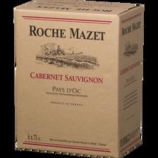 Roche Mazet Vin Rouge Igp Pays D'oc Cabernet Sauvignon  Cuvée Spéciale,2017, 6x75cl