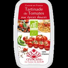 Tomates aux épices douces BIO CRUSCANA, barquette de 100g