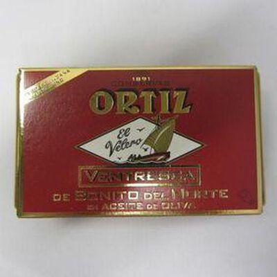 Filet de thon blanc  Germon à l'huile d'olive ORTIZ,110g
