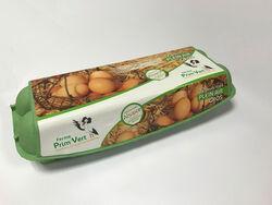 12 Oeufs frais plein Air Gros ferme Prim'Vert