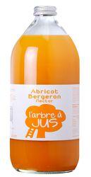 Nectar d'abricot Bergeron L'ARBRE A JUS, bouteille 1l