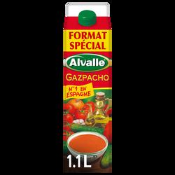 Soupe froide Gazpacho Méditerranéenne de légumes ALVALLE 1,10l FormatSpécial