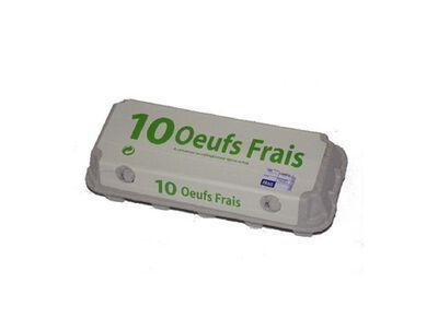OEUFS FRAIS MOYEN X10