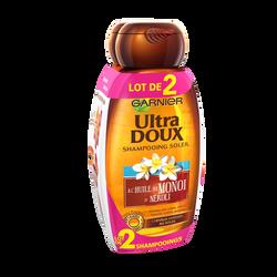 Shampooing monoi néroli ULTRA DOUX flacon 2x250ml