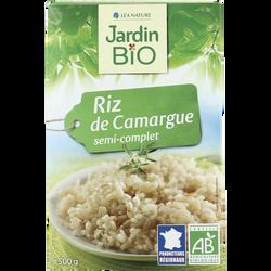 riz de Camargue semi-complet bio JARDIN BIO 500g