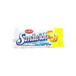 Biscuits fourrés vanille Sandwich GUARINA, 12 unités, 330G