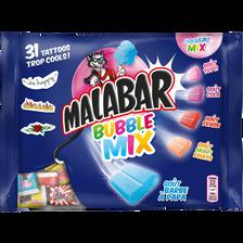 Chewing gums MALABAR Bubble-Mix parfums assortis 214g