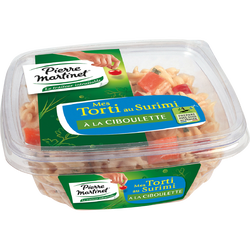 Salade de tortis au surimi PIERRE MARTINET, 300g