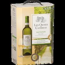 Cambras Vin Blanc Igp Pays D'oc Sauvignon Les Ormes De , Fontaine À Vinde 5l
