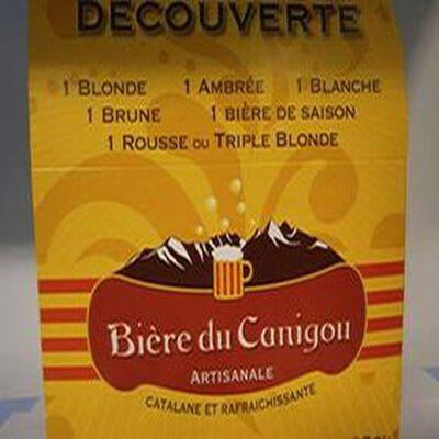 BIERE CANIGOU DECOUVERT.6X33CL