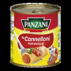 Cannellonis pur boeuf à l'huile d'olive PANZANI, boîte de 800g