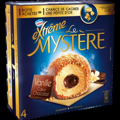 Mystère vanille coeur chocolat EXTREME, 4 unités, 308g