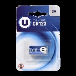 Pile U CR123